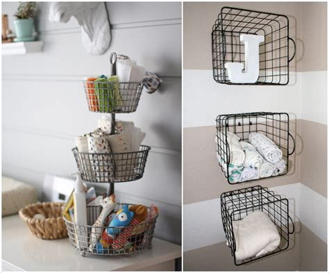 15 Awesome Baby Nursery Storage Ideas