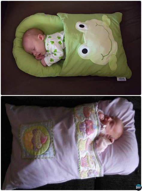 diy baby pillowcase sleeping bag nap ma pillowcase