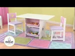 Kindertisch Und Stühle : kidkraft 26913 kindertisch und 2 stuehle herzchen pastel holzspielzeug youtube ~ Eleganceandgraceweddings.com Haus und Dekorationen