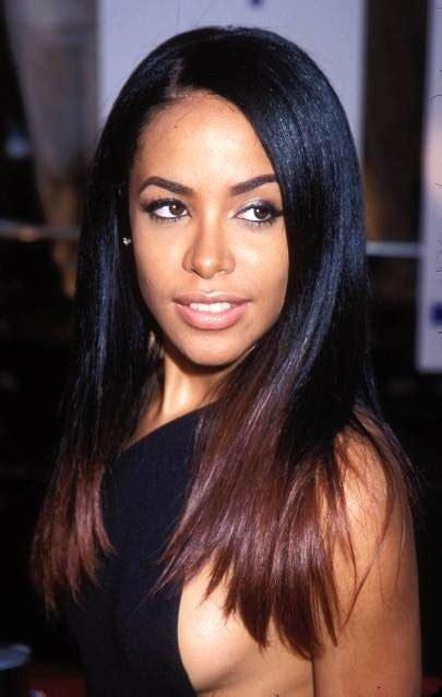 aaliyah hairstyles hair