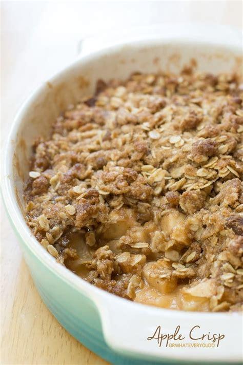 fresh apple desserts fresh apple crisp recipe 187 or whatever you do