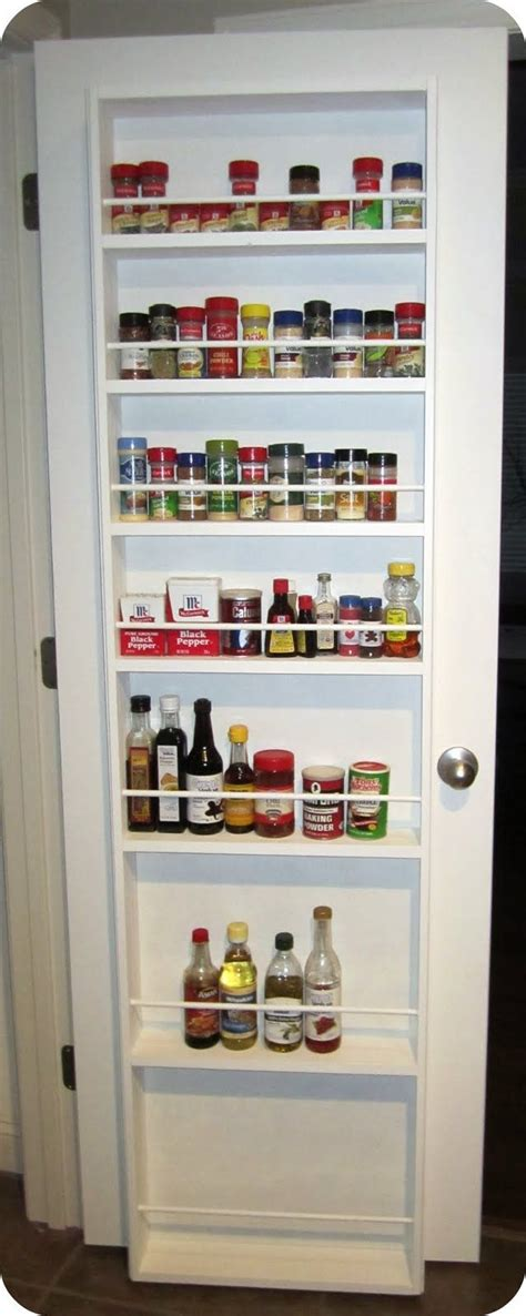 Spice Rack For Pantry Door by Pantry Spice Rack On Door Not Just Spices But For
