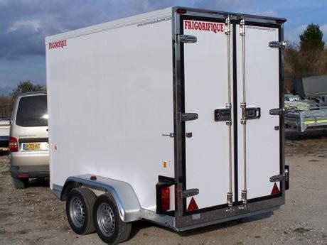 chambre froide fonctionnement remorques réfrigérées fourgon frigorifique