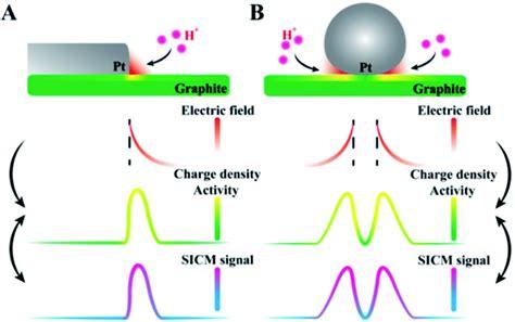observation  heterogeneous charge distribution   electrode unraveling