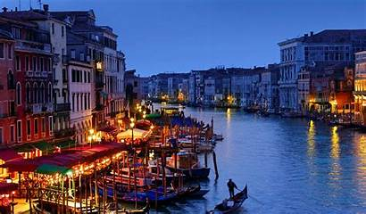 Venice Italy Landscape Water Boat Backgrounds Background