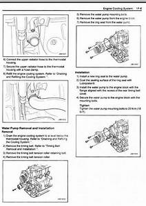 30 2007 Suzuki Forenza Serpentine Belt Diagram