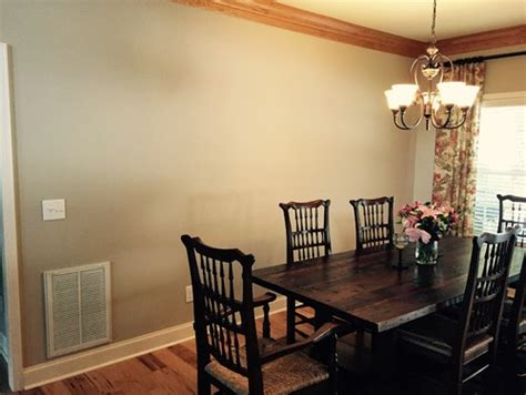 Thus, wall paneling is one of the hottest trends at wall stickers in dining room. Blank wall in Dining room