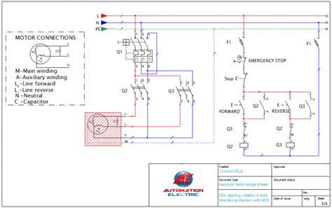 Condensator Motor Monofazat by Pornirea Motoarelor Monofazate Rotatie In Ambele Sensuri
