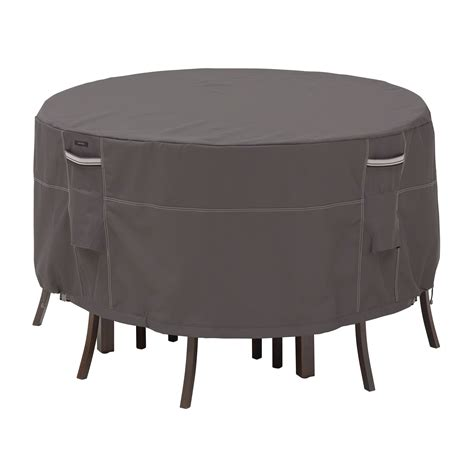 table and chair covers classic accessories covers ravenna patio furniture set