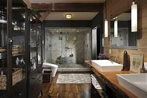 Moderne Badezimmer Im Vintage Stylebadezimmer Ideen Fr