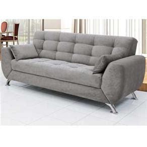sofá 3 lugares linoforte larissa em tecido suede marrom sof 225 s em promo 231 227 o pre 231 o de sala de estar casas bahia