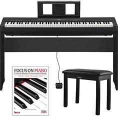 yamaha p45 costco yamaha p45b digital piano with yamaha stand and bench 1202