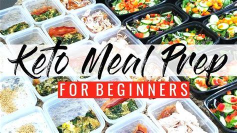 keto meal prep   week easy beginner meal prep