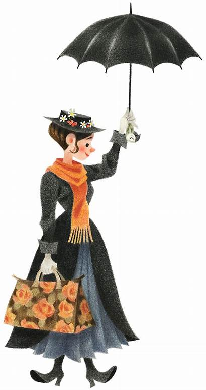 Poppins Mary Clip Transparent Clipart