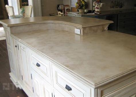 concrete countertop light color kitchen