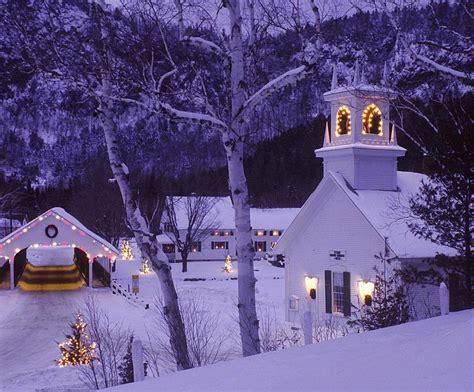 Christmas Eve  Country Christmas, Stark, New Hampshire