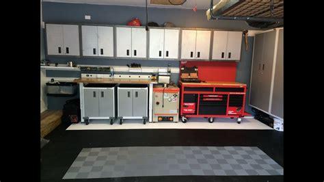 garage remodel  gladiator garageworks cabinets