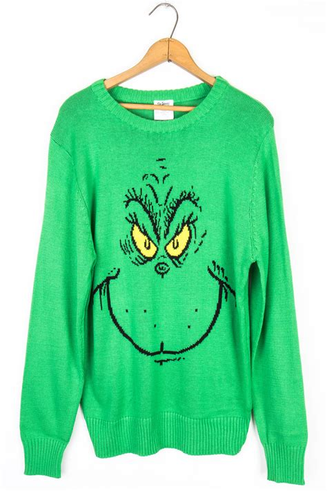 the grinch ugly christmas sweater ragstock
