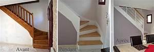 Renover Un Escalier En Bois : nos r alisations d 39 int rieur les avant apr s chantiers ~ Premium-room.com Idées de Décoration