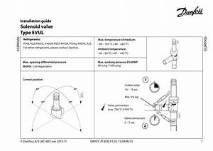 Danfoss Solenoid Valves Evul Installation Guide