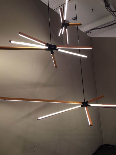 designers go linear at icff with led stick bulbs