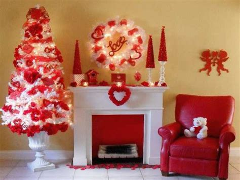 33 adorable red colour valentine decoration ideas