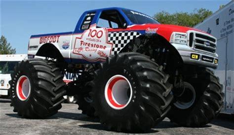 firestone bigfoot monster truck themonsterblog com we know monster trucks team