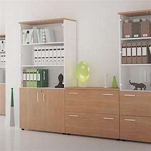 Armoire De Rangement Bureau : armoire de rangement en bois silver lemondedubureau ~ Melissatoandfro.com Idées de Décoration