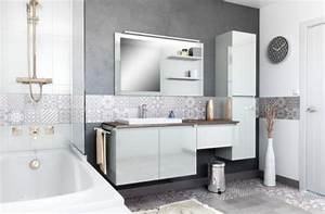 Salle De Bain En Bois : delightful salle de bain blanc bois 2 salles de bain ~ Dailycaller-alerts.com Idées de Décoration