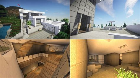 High Quality Images For Deco Interieur Maison Moderne Minecraft