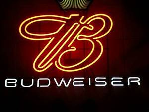 Budweiser King of Beers Neon Light Sign 16