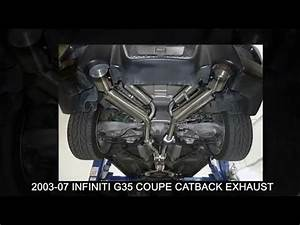2004 Infiniti G35 Coupe Diagram : 2003 2007 infiniti g35 coupe catback exhaust system ~ A.2002-acura-tl-radio.info Haus und Dekorationen