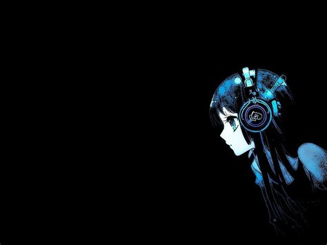 Anime With Headphones Wallpaper - anime with headphones hd wallpaper free desktop