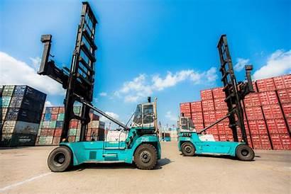 Empty Container Konecranes Handler Handlers Port Henley