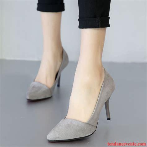 escarpin beige  noir sexy printemps chaussures de