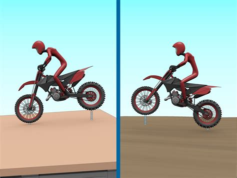 how to jump a motocross bike how to jump on a dirt bike 15 steps with pictures wikihow