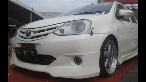 Toyota Etios Valco Modification by Toyota Etios Valco Modifikasi Vip Style Bodykit Ceper