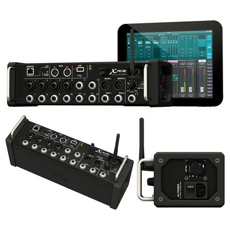 mixer for android behringer xr12 x air 12 input stagebox rackmount digital