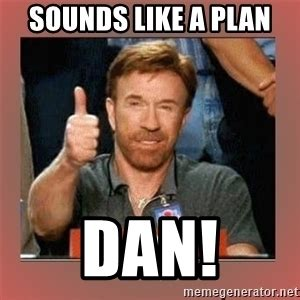Sounds Like A Plan Meme - chuck norris thumbs up meme generator