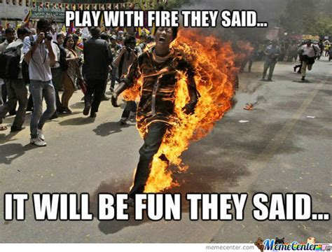 Fire Memes - man catches on fire lighting cigarette in henrico parking lot tigerdroppings com