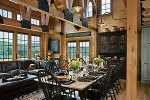 Log homes on Pinterest Log Home Kitchens, Log Home