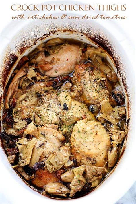 chicken thigh crock pot recipe easy meal plan december 7 13 foodie with family