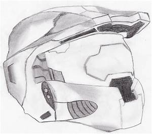 master chief helmet by oktar17 on DeviantArt