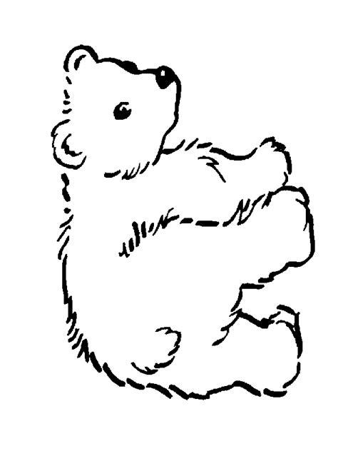 orso disegno disegni da colorare imagixs sketch coloring page