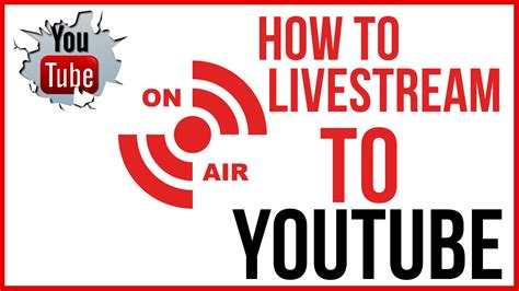 How To Live Stream On Youtube  Start To Finish Youtube