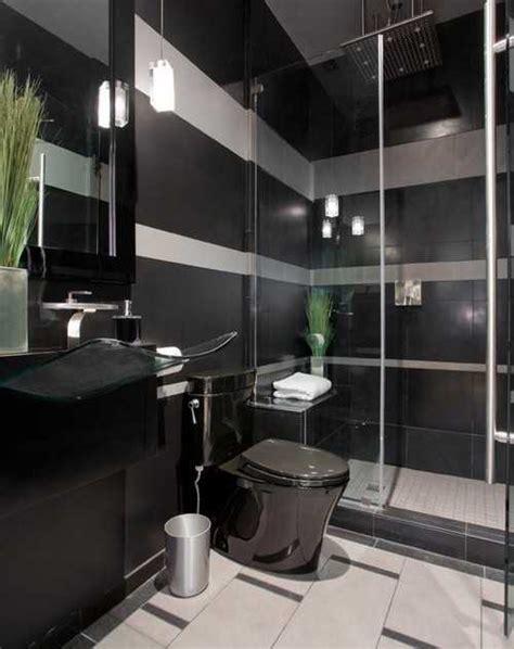 black bathroom fixtures  decor keeping modern bathroom design elegant