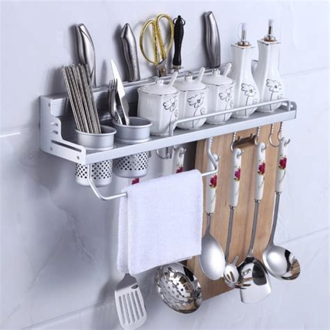 kitchen wall hanging storage mylifeunit wall mount knife spice kitchen utensil hanging 6421