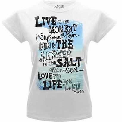 Salt Quotes Shirt Shirts Diving Short Scuba
