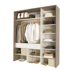 Kit d'aménagement de placard CLEA gris/ blanc Dressing Dressing & aménagement de placard