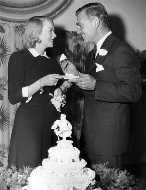clark gable carole lombard wedding sylvia ashley clark gable sle their wedding cake december 1949 m 1949 1952 divorced
